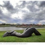 "The city of Kortrijk buys Mother Earth II ""Iconic sculpture on Leie banks"""